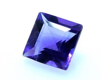 Natural African Purple Amethyst Size 5x5x4 mm Amethyst Faceted Carat 0.50 PCT 2113