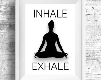 Yoga Wall Art yoga wall decal yoga wall art yoga decal yoga studio decor