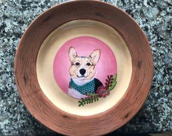 Custom Painted Pet Plates