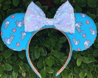 Blue Merle Corgi Peach Mouse Ears