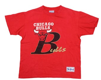 90s chicago bulls t shirt size l