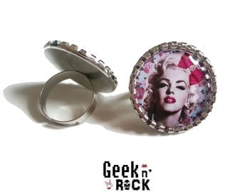 Jewelry Pin'up - rockabilly ring