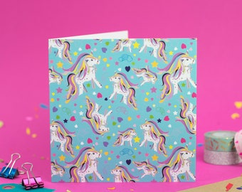 Unicorn Party - Greeting Card