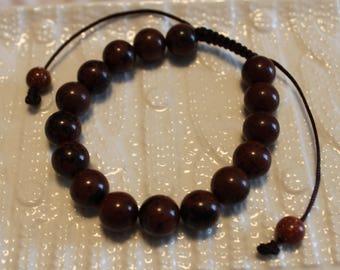 Elegant Unisex-Obsidian beaded bracelet; shamballa, handmade, casual-wear, party-wear