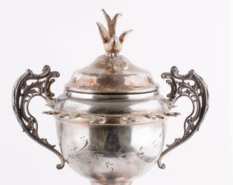 Vintage New Amsterdam Silver Co. Sugar Bowl