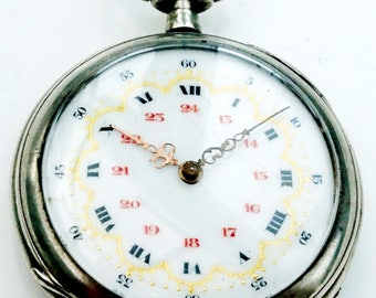 High quality Felix Chronometre French provincial Crettiez pocket watch