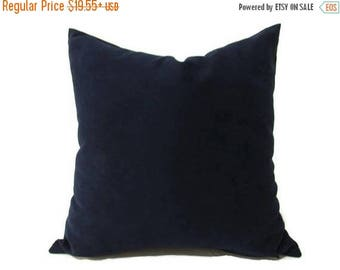 20% off Blue Pillow, Navy Velvet Pillow, Blue Bed Velvet Pillow, Blue Velvet Pillow Cover, Blue Velvet Decorative Pillow, Sofa Pillow, Blue