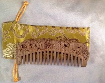 A0017L- Wooden Comb