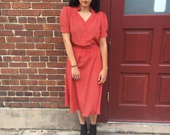 Sassy 70s Dress