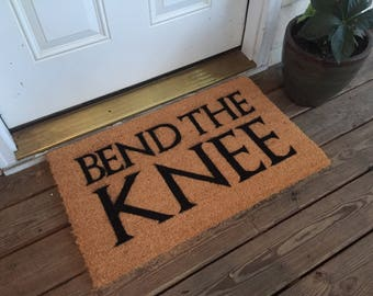 Game of Thrones - Bend The Knee mat
