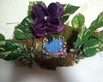 Fairy House, miniatures, fairy garden, handmade, gnome garden