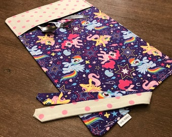 PONY / placemat roll utenciles, portable place mat, for school, for work!