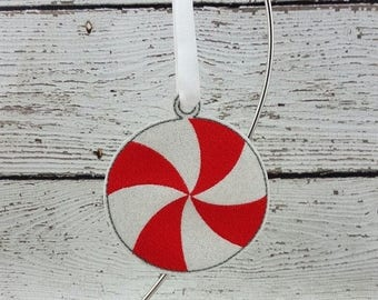 Summer Sale Peppermint Ornament/Gift Tag