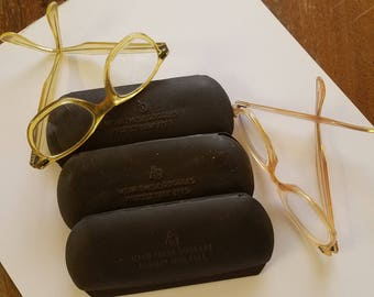 Vintage welders glasses/case lot
