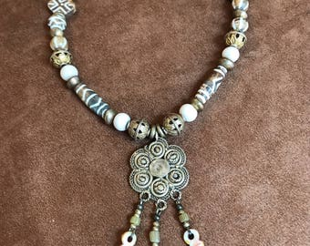 Beautiful Pumteck Collection Necklace