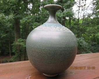 Vintage Signed Art Pottery Vase