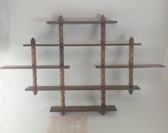 Wall Hanging Shelves knick knack shelf | etsy