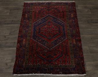 Lowest Price Foyer Size Hamedan Persian Rug Oriental Area Carpet Sale 4'3X6'5