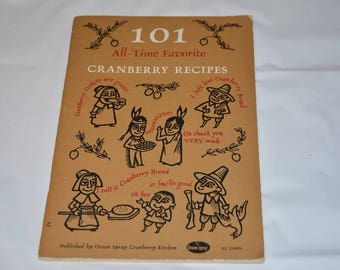 101 All-Time Favorite Cranberry Recipes by Ocean Spray