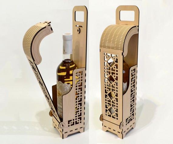Wine Box Wood Wine Box Plywood Wine Box Laser Cut