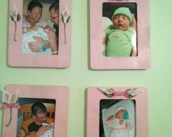 Custom Wood Photo Frames