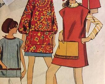 7365 Simplicity Women's Vintage Apron Pattern Size 14-16