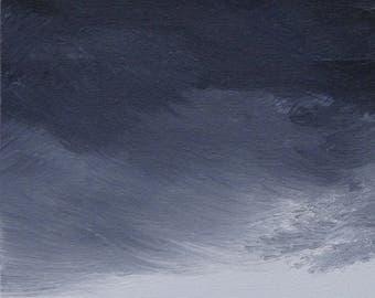 Clouds #4 art print 11x14