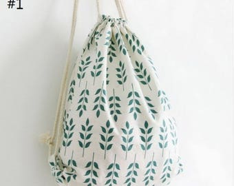 Casual Drawstring Bag