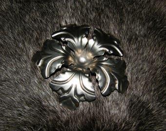 metal art, Metal Flower, Metal candle holder, metal decor