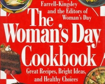 Vintage Cook Book - The Woman's Day Cookbook - 1995