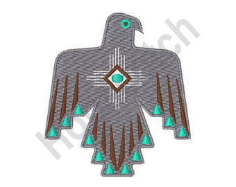 Thunderbird Symbol - Machine Embroidery Design, Native American, American Indian