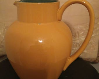 Vintage Denby Classic Stoneware Water Pitcher/Jug Made in England