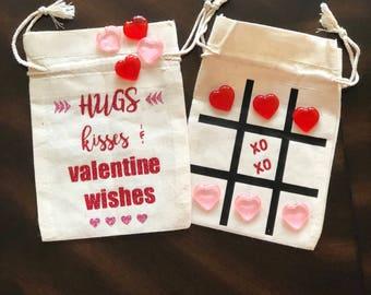 Valentine Game, Valentine Tic Tac Toe