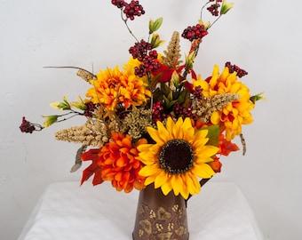 fall flower arrangement floral arrangement fall table arrangement flowers in a small