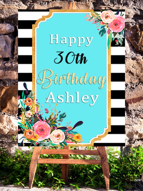 30th Birthday Decorations Dirty Thirty Party Decorations Printable
