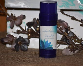 Lotion stick infused with calendula