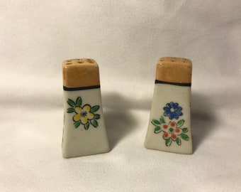 Set of *2* Miniature Hand Painted Salt and Pepper Shakers