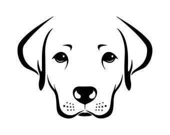 Labrador Retriever #4 Dog Breed K-9 Animal Pet Hound Lab Puppy Logo .SVG .EPS .PNG Digital Clipart Vector Cricut Cut Cutting Download File