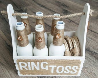 Ring Toss | Ring Toss Game | Wedding Game | Garden Game | Vintage Game | Ring Toss Set