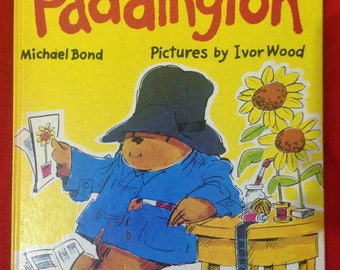Fun and Games with Paddington by Michael Bond, Pictures by Ivor Wood, vintage 1977