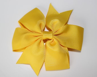 Clip hair bow for girl