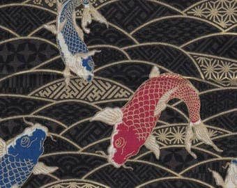 Japanese Koi Carp designed fabric