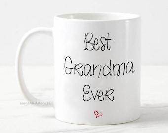 Best Grandma mug, best grandma mug, grandma gift, baby reveal, pregnancy announcement mug, gift for grandma, grandma coffee mug, grandma mug