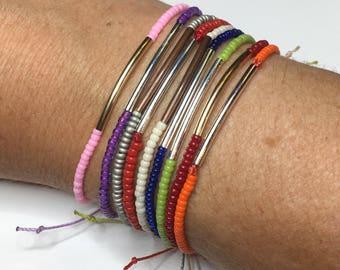 Minimalist bracelet, dainty bracelet, single strand bracelet, custom bracelet