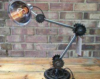 Adjustable Sprocket Lamp