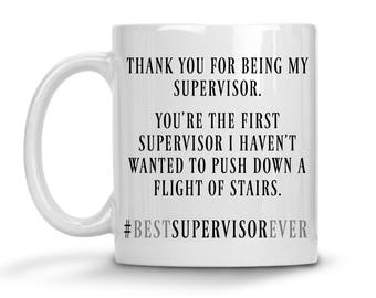 Funny Supervisor Mug - Best Supervisor Mug - Supervisor Christmas Gift - Supervisor Gift - Supervisor Tumbler - Supervisor Travel Mug