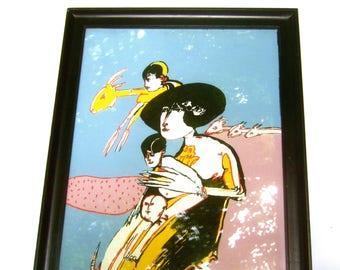 REMO BRANDISI Avant Garde Silk Screen Print
