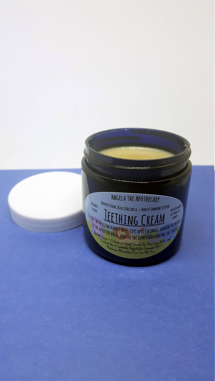 Organic Vegan Teething Cream Toothache Relief Teething
