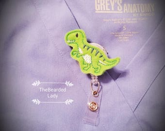 T-Rex Badge Reel