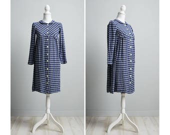 90s Babydoll Dress, Long Sleeve Babydoll Dress, Babydoll Dress Collar